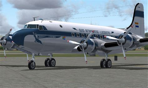 South African Airways Douglas DC-4 for FS2004
