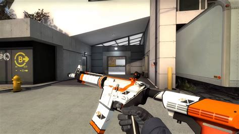 M4A4 Asiimov - Field Tested (Factory New Base) - CS:GO