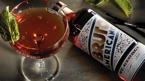 Bruto Americano, a Campari cousin, is anything but ugly