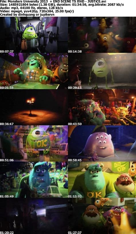 Monsters University (2013) TS END SCENE XviD-JUSTiCE