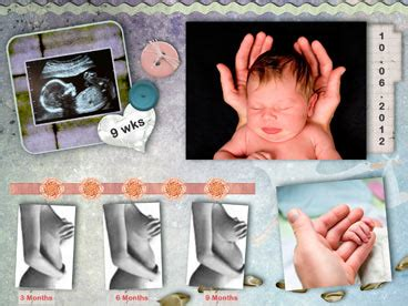 Online collage and Ecard with personal photos and videos
