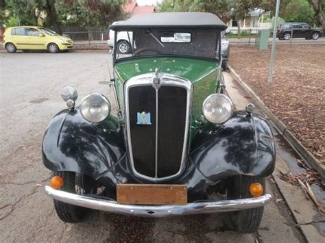 1937 Morris Eight for sale - Classic car ad from