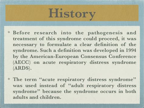 Updates on Acute respiratory distress syndrome