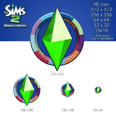 The Sims 2 Ultimate Collection HD Icon by Spiker90910 on