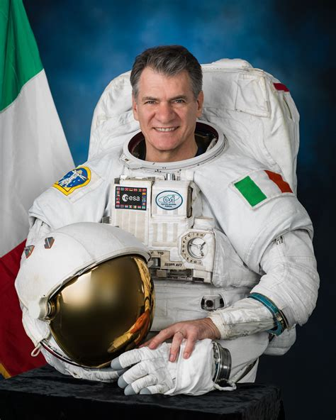 Europe´s most experienced astronaut, Paolo Nespoli, is