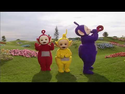 Teletubbies Laa-Laa Tickle and Giggle Soft Toy   IWOOT
