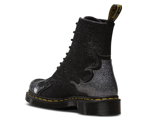 1460 PASCAL FLAME GLITTER | Dr Martens Official Site