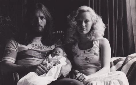 Pink Floyd guitarist David Gilmour's ex-wife on being