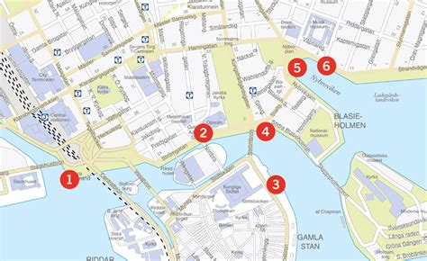 Opening hours, maps & contact us – Stromma Stockholm