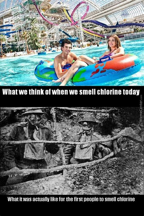 100 Years Of Chlorine by pasterofmuppets - Meme Center