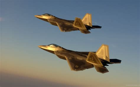 Golden Jet Fighter Planes Wallpapers | HD Wallpapers | ID