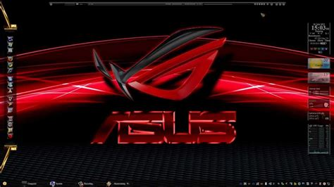 Windows 7 Theme ASUS ROG made by Chris/Tiger (Watch in HD