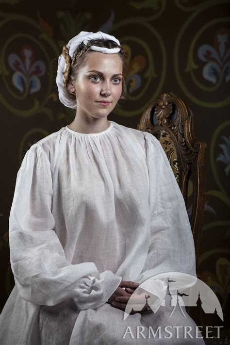 Medieval Chemise light flax linen underdress