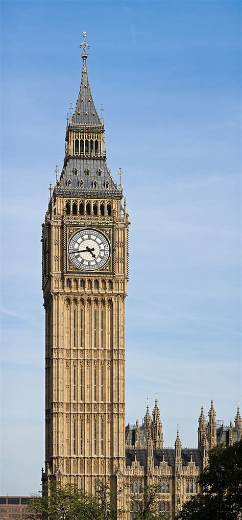 File:Clock Tower - Palace of Westminster, London