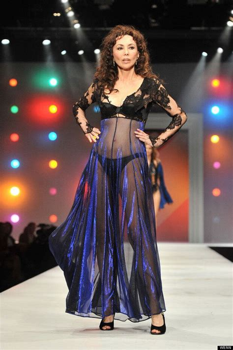 60 & Sexy! Vintage Supe Marie Helvin Rocks The Catwalk In