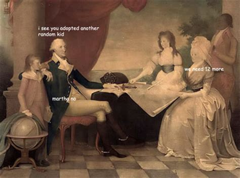 If George Washington Paintings Could Talk