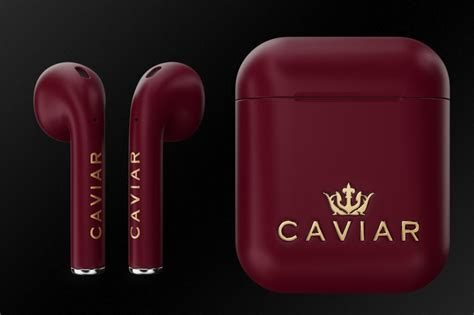 Caviar Launches Luxury 'Royal Gift Editions' AirPods in