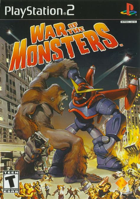 War of the Monsters for PlayStation 2 (2003) - MobyGames