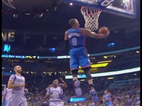 Russell Westbrook soars for reverse dunk: Oklahoma City
