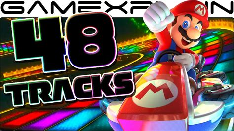 Mario Kart 8 Deluxe: All 48 Tracks & 43 Characters