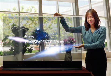 Samsung shows off 55-inch transparent and mirror OLEDs | ZDNet
