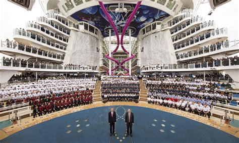 Royal Caribbean takes delivery of Harmony of the Seas