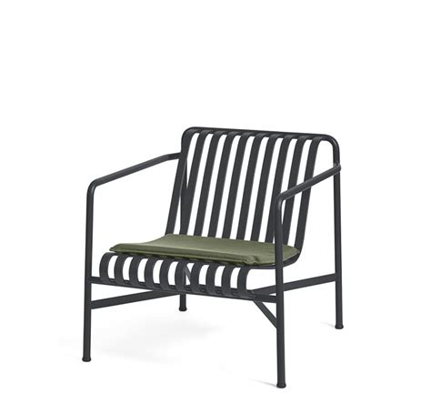 Hay Palissade Lounge Chair Low Antrasite - Lunehjem