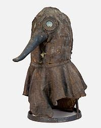 Plague Doctor's Mask from around 1700