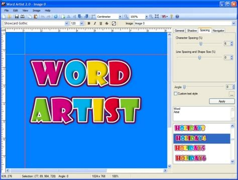 Word Artist - Free download and software reviews - CNET