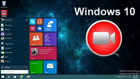 Screen Recorder free download software for Windows 10