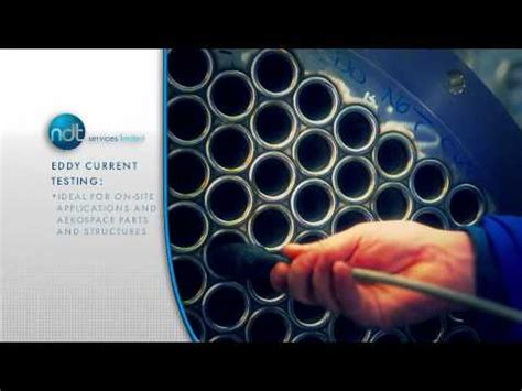 NDT Services Ltd - Eddy Current Testing - YouTube