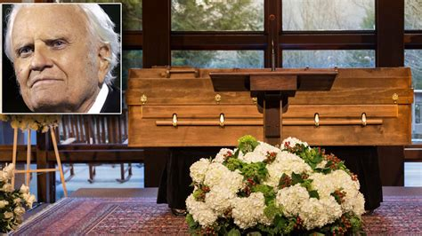 Billy Graham to Be Laid to Rest in Casket Made by Prison