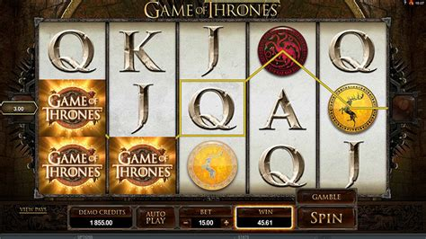 Game of Thrones Slot Machine Game - Free Play Online
