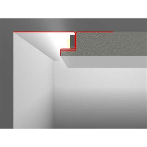 LED profile Stucco / Plaster SNL with wing 20-80mm (Length