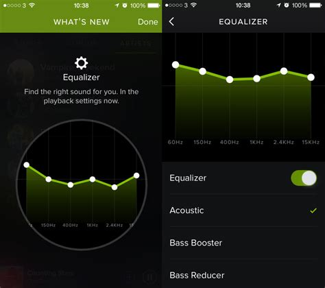 Spotify Equalizer Settings For Android, iPhone, iPad