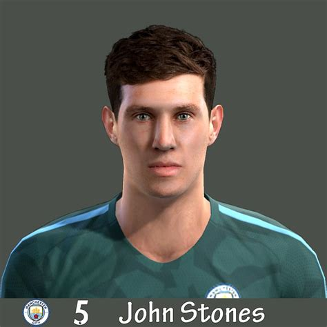 PES 2013 John Stones (Manchester City) Face by Grkm - PES