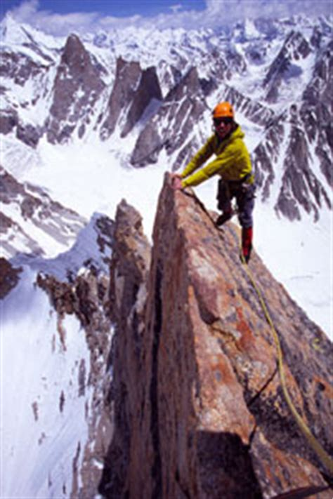THE OGRE RESISTS ALL SUITORS - Alpinist