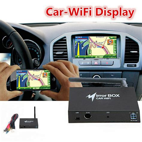 Car WIFI Mirror Link Box Mirror Converter for Android iOS