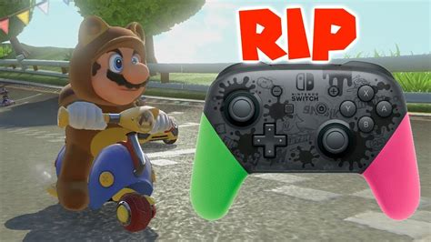 Mario Kart 8 Deluxe - When A Switch Pro Controller Dies