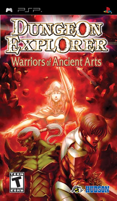 Dungeon Explorer: Warriors of Ancient Arts for PSP (2008