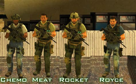 Midway Mods: [REL] Task Force 141 Operatives Pack