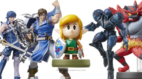 Ivysaur, Squirtle, Snake, and Link amiibo available to pre