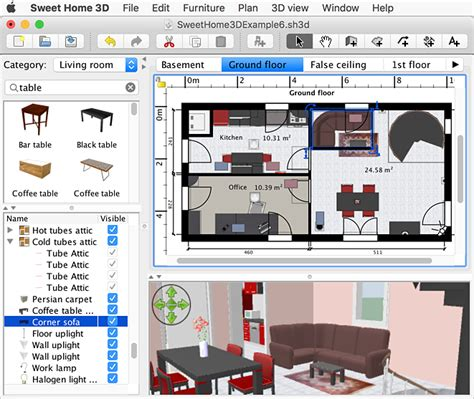 Sweet Home 3D for Mac - Free download and software reviews