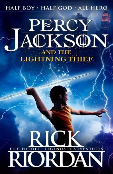 Percy Jackson and the Lightning Thief (Book 1) (eBook