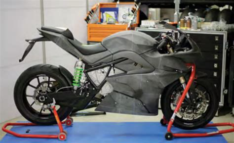Energica Ego: Italian 3D Printed Electric Motorcycle to