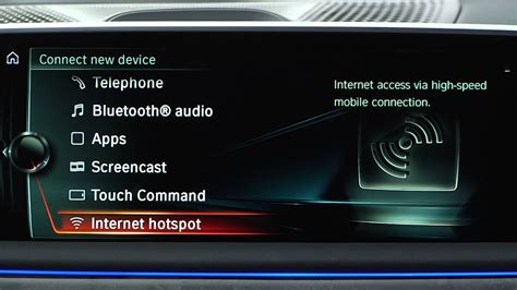 Connect Device to WiFi Hotspot   BMW Genius How-To - YouTube