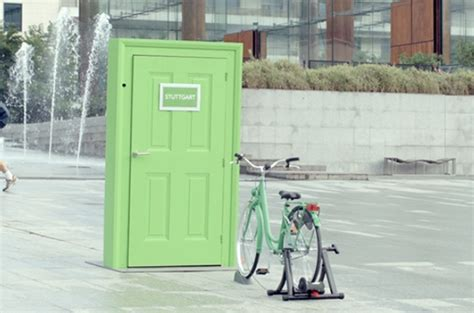 Stand-Alone Doors Transport Bystanders To Another European