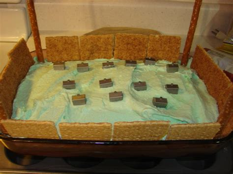 """Walls of Jericho Cake """"Joshua And The Battle Of Jericho Snack"""""""