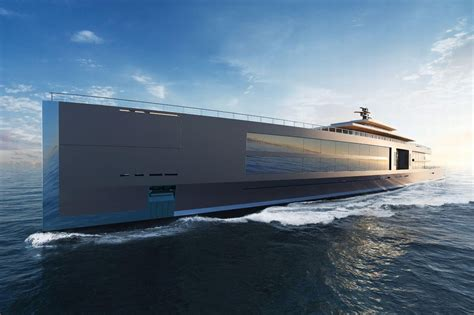 For the classy billionaire - A 400 foot superyacht that